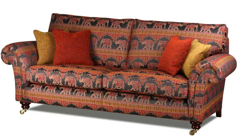 Baxter Country Style Sofa in Ceylon Flame