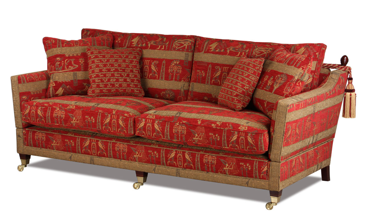 Knole Sofa in Stoffbezug Cleopatra Red