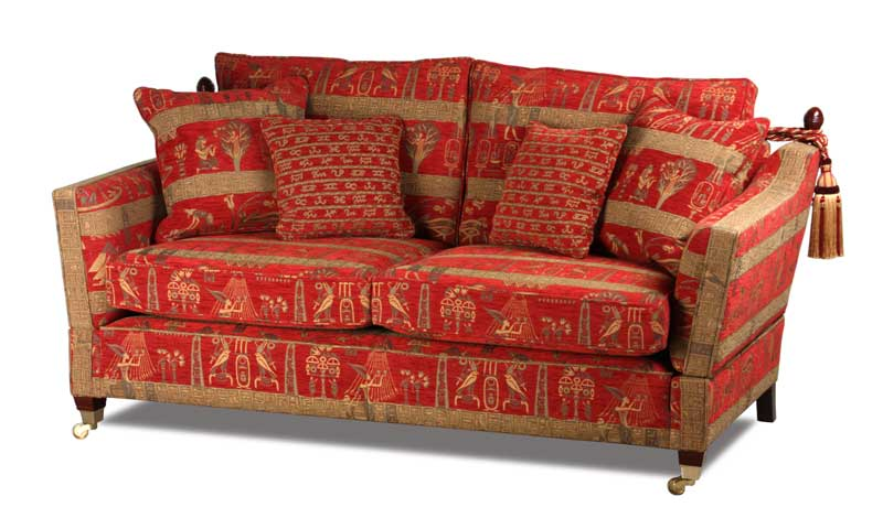 Knole Midi in Stoffbezug Cleopatra Red